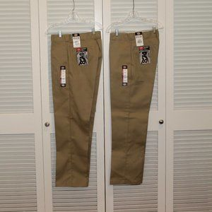 Bundle 2 Pair of Dickies Work Pants Size 33 x 34